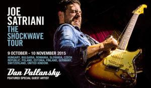 Joe Satriani mit Dan Patlansky als Support