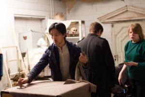 Regisseur Huan Vu bei der Arbeit