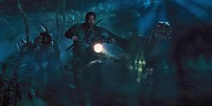 Dank Bike kann Owen im Jurassic World mit den Raptoren mithalten.  © Universal Studios