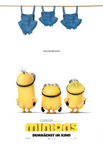 Minions Filmplakat © Universal Studios