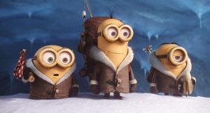 Kevin, Stuart und Bob © Universal Studios