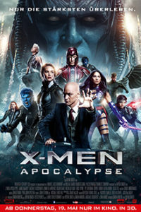 X-Men Apocalypse Filmplakat © 20th Century FOX
