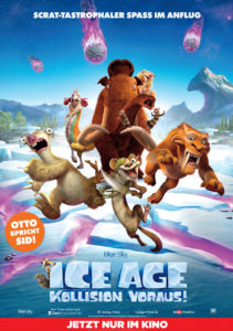 Ice Age 5 – Kollision voraus! Filmplakat © 20th Century FOX