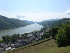 Ein Blick ins Mittelrheintal