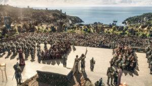 Warcraft: The Beginning – König Wrynn und die Menschen © Universal Studios