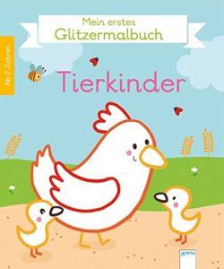 Mein erstes Glitzermalbuch. Tierkinder