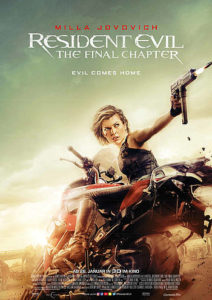 Resident Evil 6: The FInal Chapter Filmplakat © Constantin Film