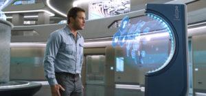 Passengers: Jim versucht heruaszufinden, warum er alleine ist © Sony Pictures