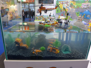 Lego-Klone unter Wasser