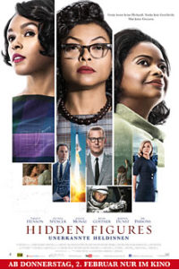 Hidden Figures Filmplakat © 20th Century FOX