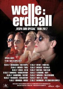 welle:erdball tour 2017 - Die Symphonie der Zeit sendet wieder
