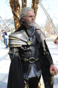 Cosplay: Marioschkah als König Regis (Final Fantasy XV) Foto: Narya Cosplay