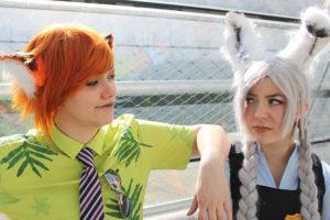 Cosplay: Fatal Fran und Nana als Nick und Judy (Zoomania) Foto: Narya Cosplay