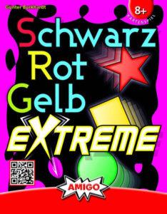 Schwarz Rot Gelb Extreme