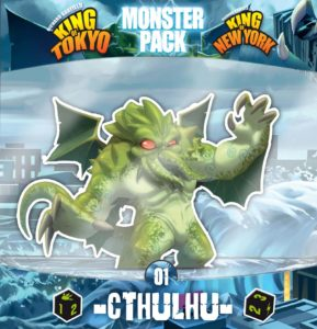 King of Tokyo - Monster Pack 01 - Cthulhu