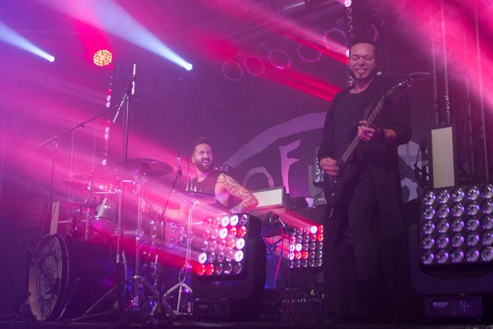 Diary of Dreams – Hell in Eden Tour im MusikZentrum Hannover. Publikum und Band hatten Spaß.