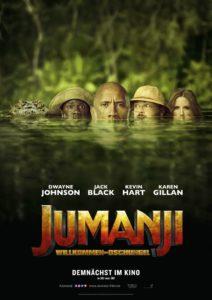 Jumanji Filmplakat © Sony Pictures