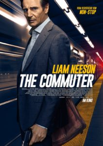 "The Commuter Filmplakat<br /> © <a href=""http://www.studiocanal.de"" target=""_blank"" rel=""noopener"">Studiocanal</a>"