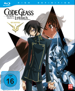 Code Geass Lelouch of the Rebellion Blu-ray Cover