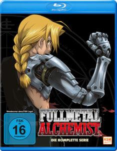 Fullmetal Alchemist Gesamausgabe auf Blu-ray