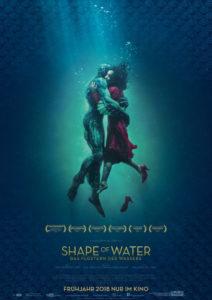 Shape of Water – Das Flüstern des Wassers Filmplakat © 20th Century FOX