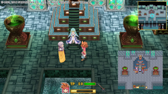 Secret of Mana - Die Spielwelt im Vergleich zum Original
