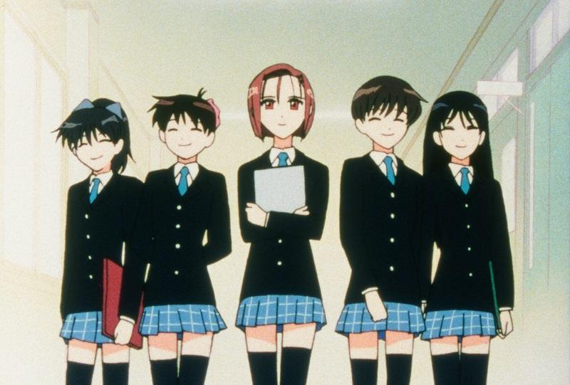 Kare Kano: Miyazawa und ihre Freundinnen © 1998 M.TSUDA·HAKUSENSHA/GAINAX·KAREKANO-DAN·TV TOKYO·MEDIANET