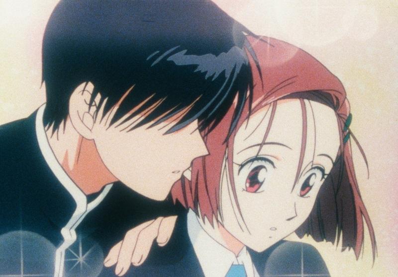Romantik mit Gänsehautfaktor ist vorhanden © 1998 M.TSUDA·HAKUSENSHA/ GAINAX·KAREKANO-DAN·TV TOKYO·MEDIANET
