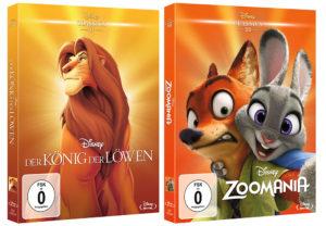 Der König der Löwen und Zoomania ©2018 Disney