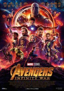Avengers: Infinity War Filmplakat © Marvel, Disney