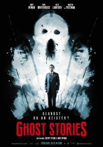 Ghost Stories Filmplakat © Concorde
