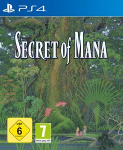 Secret of Mana Cover Playstation 4