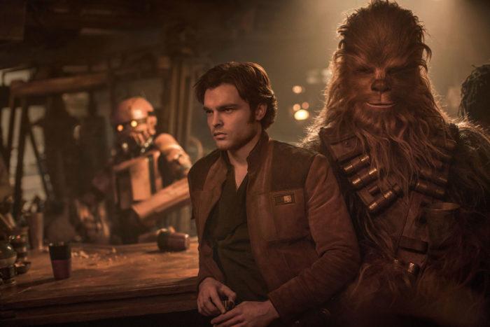 Solo A Star Wars Story Han Solo und Chewbacca © Lucasfilm, Disney