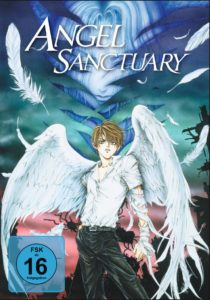 "Angel Sanctuary Cover © 2000 Kaori Yuki / Hakusensha • ""Angel Sanctuary"" Committee"