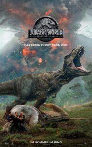 Jurassic World 2 Filmplakat © Universal Pictures