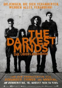 The darkest Minds Filmplakat © 20th Century FOX