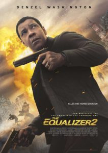 The Equalizer 2 Filmplakat © Sony Pictures