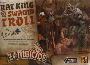 Zombicide: Black Plague - Rat King & Swamp Troll