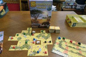 Unverkennbar Carcassonne - selbst in der Savanne