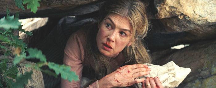 Rosalie Quaid (Rosamund Pike) muss Schreckliches mit ansehen. © Universum Film