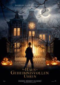 Das Haus der geheimnisvollen Uhren Filmplakat © Universal Pictures