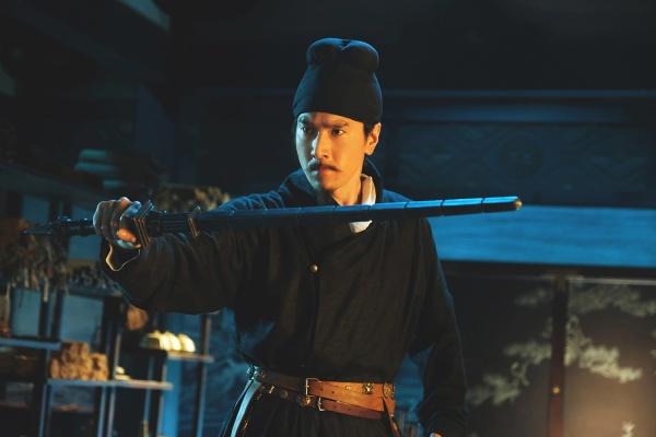Di Renjie uns das legendäre Drachenschwert. © Koch Media Films