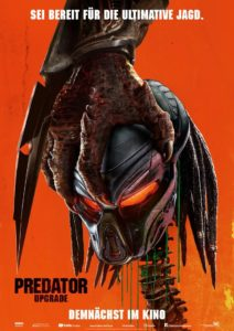 Predator Upgrade Filmplakat © 20th Century FOX