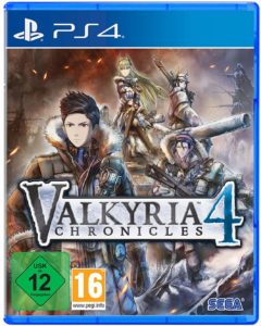 Valkyria Chronicles 4 Playstation 4 Cover
