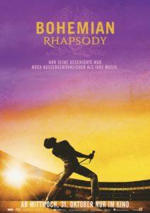 Bohemian Rhapsody Filmplakat © 20th Century FOX