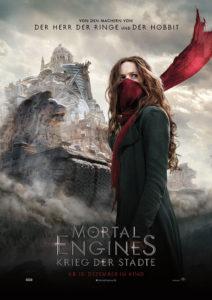 Mortal Engines Filmplakat © Universal Pictures
