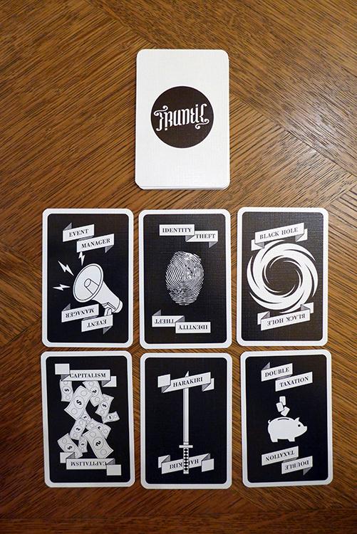 Frantic Kartenspiel