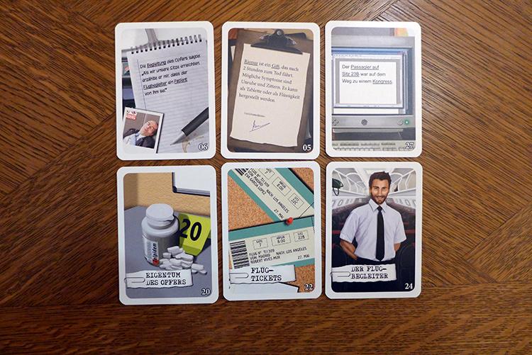 Kartenspiel Sherlock Letzter Aufruf