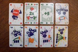 Aktions- und Glückskarten