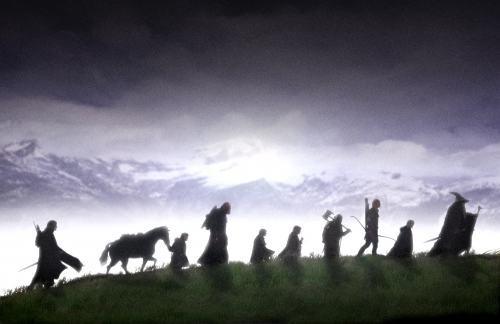 Der Herr der Ringe - Die Gefährten: Die neun Gefährten ©Warner Bros